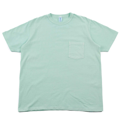 Velva Sheen Pigment Dyed Pocket Tee Mint