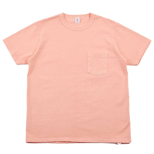 Velva Sheen Pigment Dyed Pocket Tee Orange