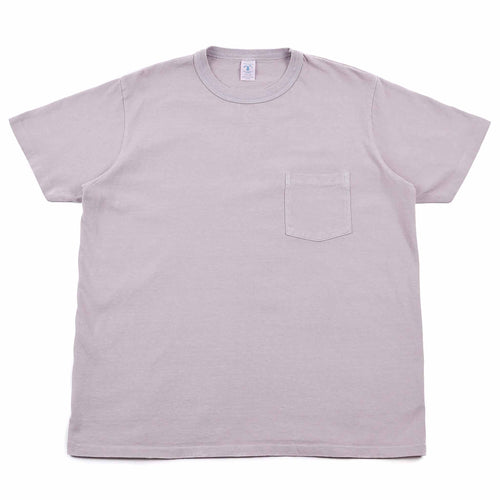 Velva Sheen Pigment Dyed Pocket Tee Wisteria