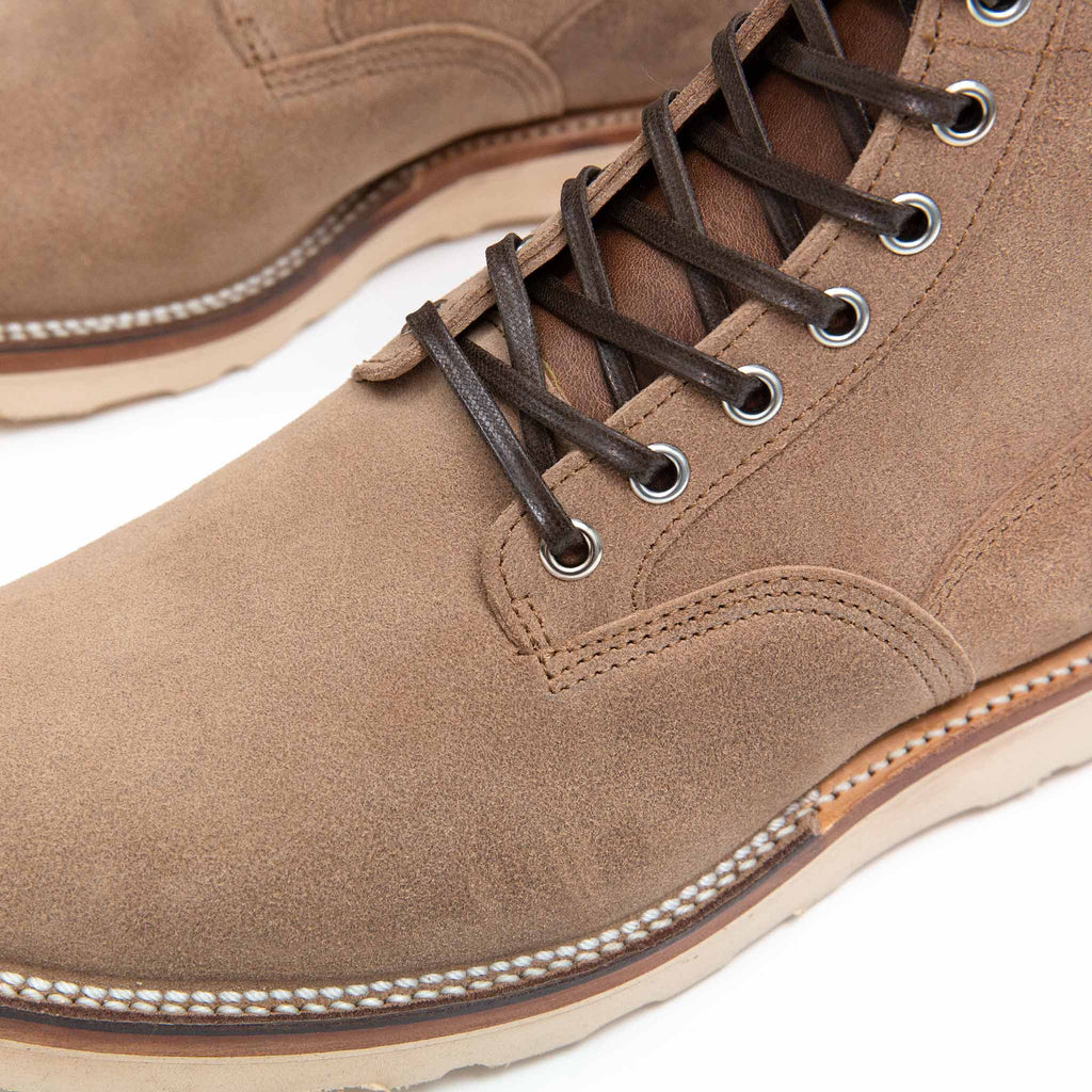 Viberg Natural Chromexcel Roughout Scout Boot