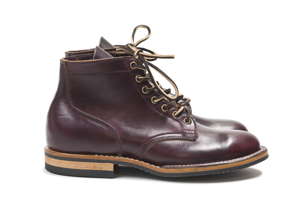 Viberg Colour 8 Chromexcel Service Boot at shoplostfound in Toronto, profile