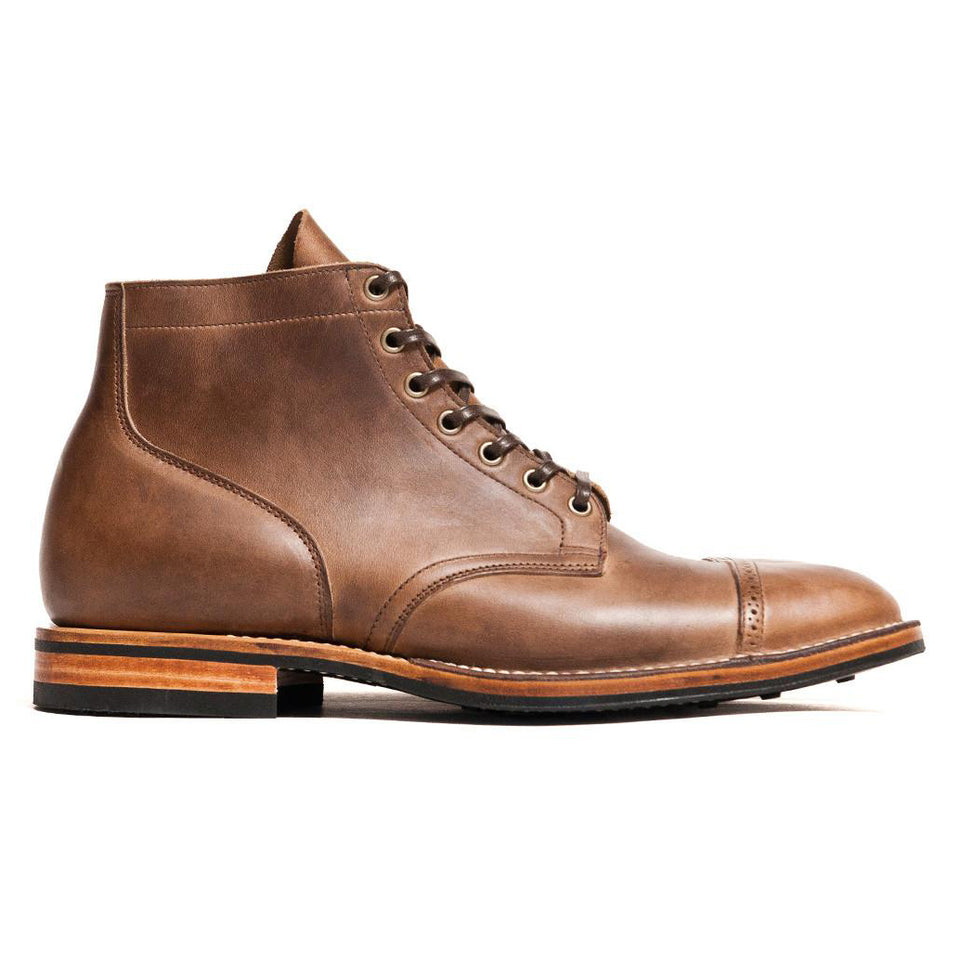 Viberg Natural Chromexcel Service Boot - Pre Order