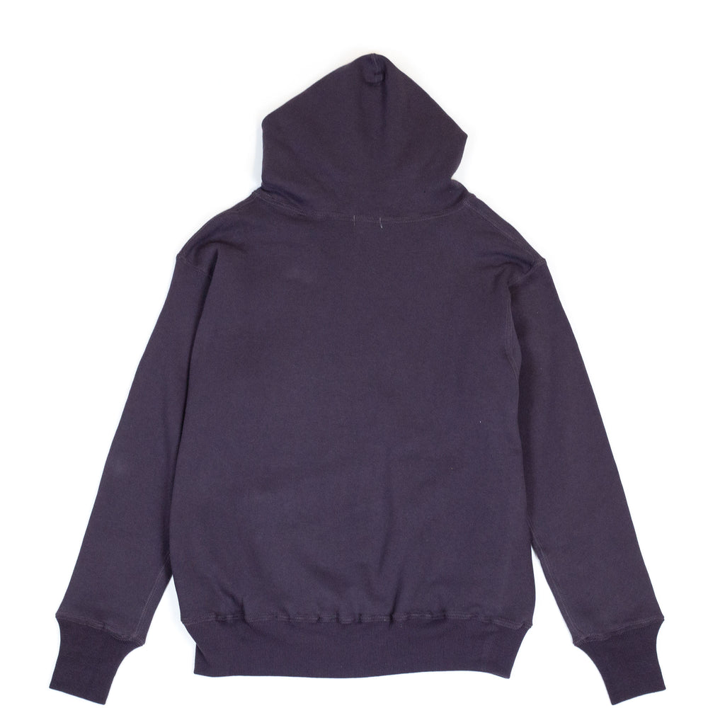 Warehouse Two Pocket Set In Hoodie 453 Dark Navy back