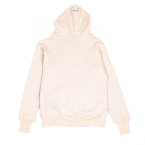 Warehouse Two Pocket Set In Hoodie 453 Oatmeal front