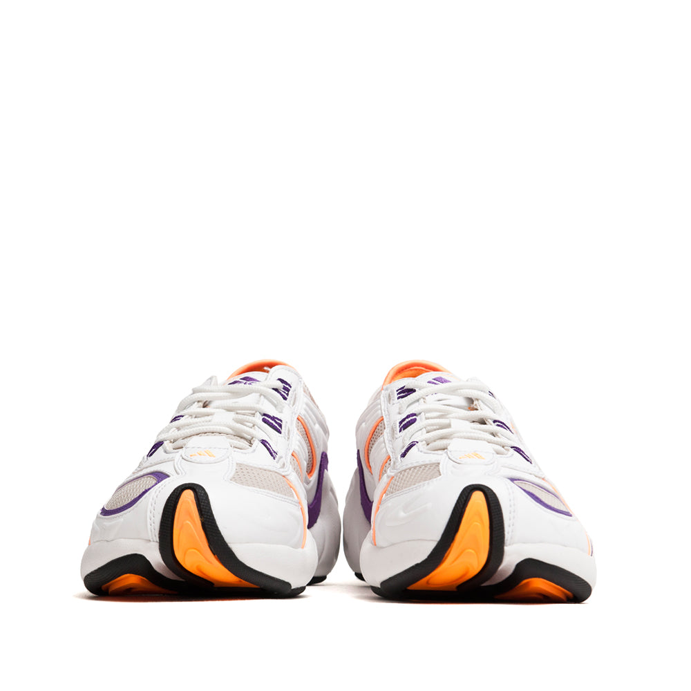 Adidas FYW S-97 Crystal White / Flash Orange at shoplostfound, front