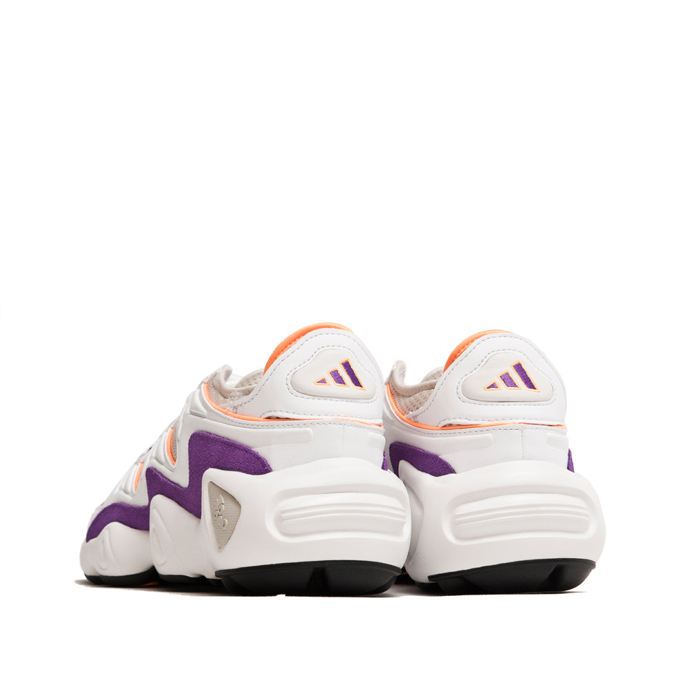 Adidas FYW S-97 Crystal White / Flash Orange at shoplostfound, back