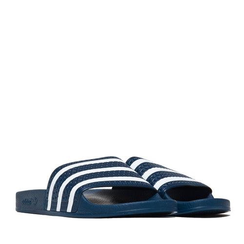 Adidas Originals Adilette Slides Navy at shoplostfound, 45