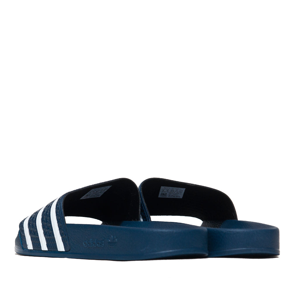 Adidas Originals Adilette Slides Navy at shoplostfound, back