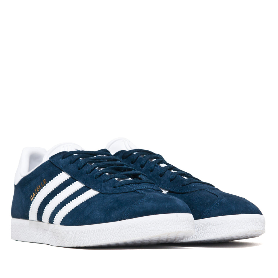 Adidas Originals Gazelle Navy/White at shoplostfound, 45