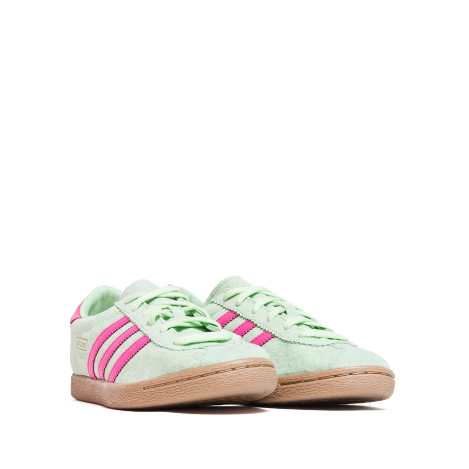 Adidas Stadt Glow Green/Shock Pink/Gold Metallic at shoplostfound, 45