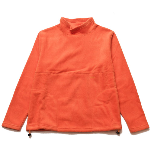 Adsum Flop Neck Fleece Orangina at shoplostfound, front