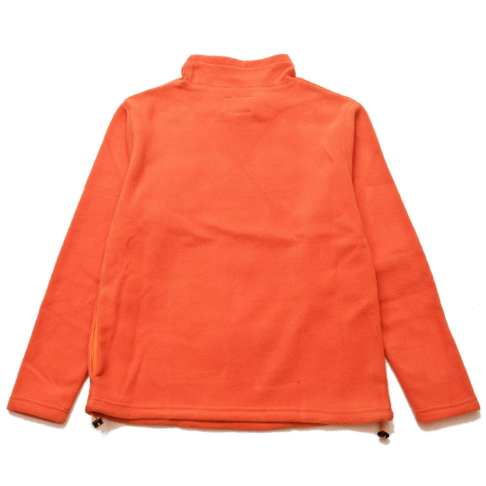 Adsum Flop Neck Fleece Orangina at shoplostfound, back