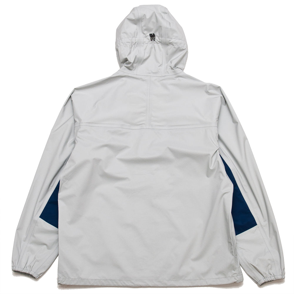 Adsum Lightweight Anorak Grey at shoplostfound, back