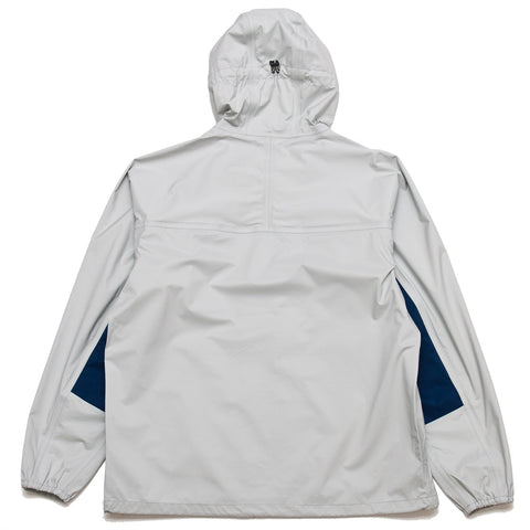 Adsum Lightweight Anorak Grey at shoplostfound, front
