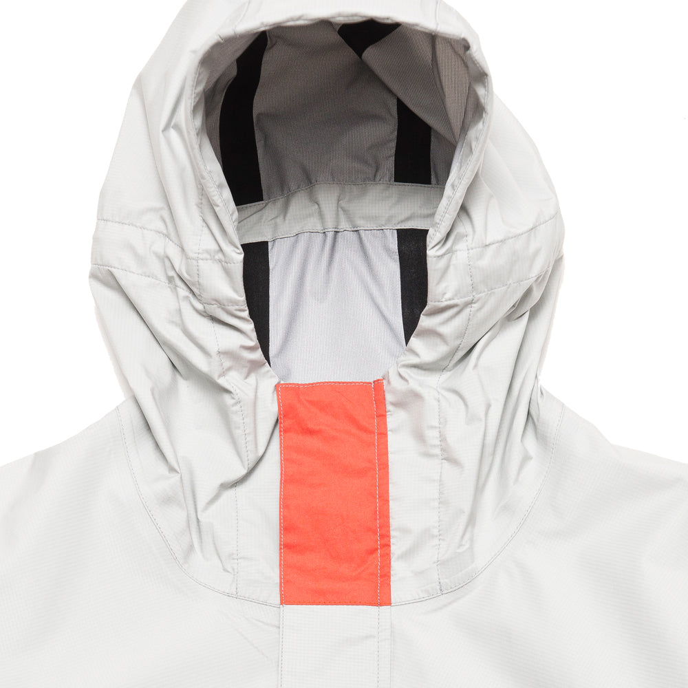 Adsum Lightweight Anorak Grey at shoplostfound, neck