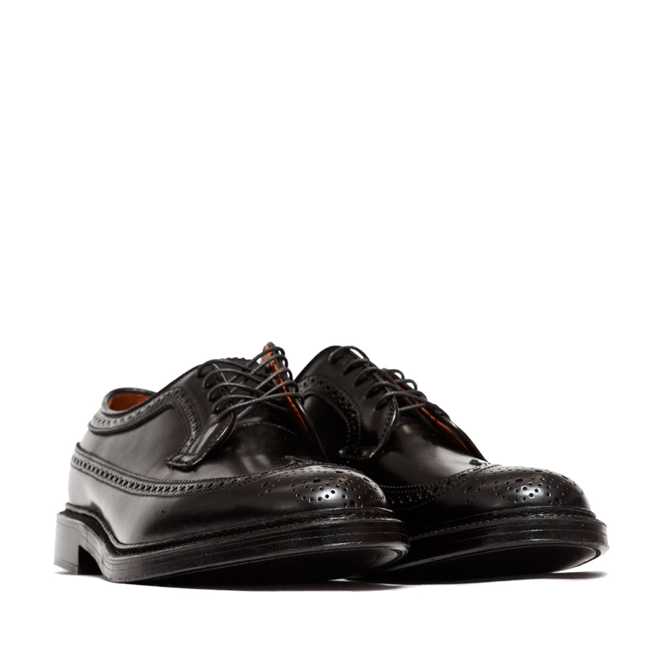 Alden Black Cordovan Longwing Blucher at shoplostfound, 45