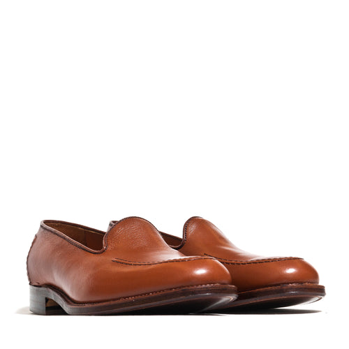 Alden Cognac Lady Calf Slip On With Mocc Stitch at shoplostfound, 45