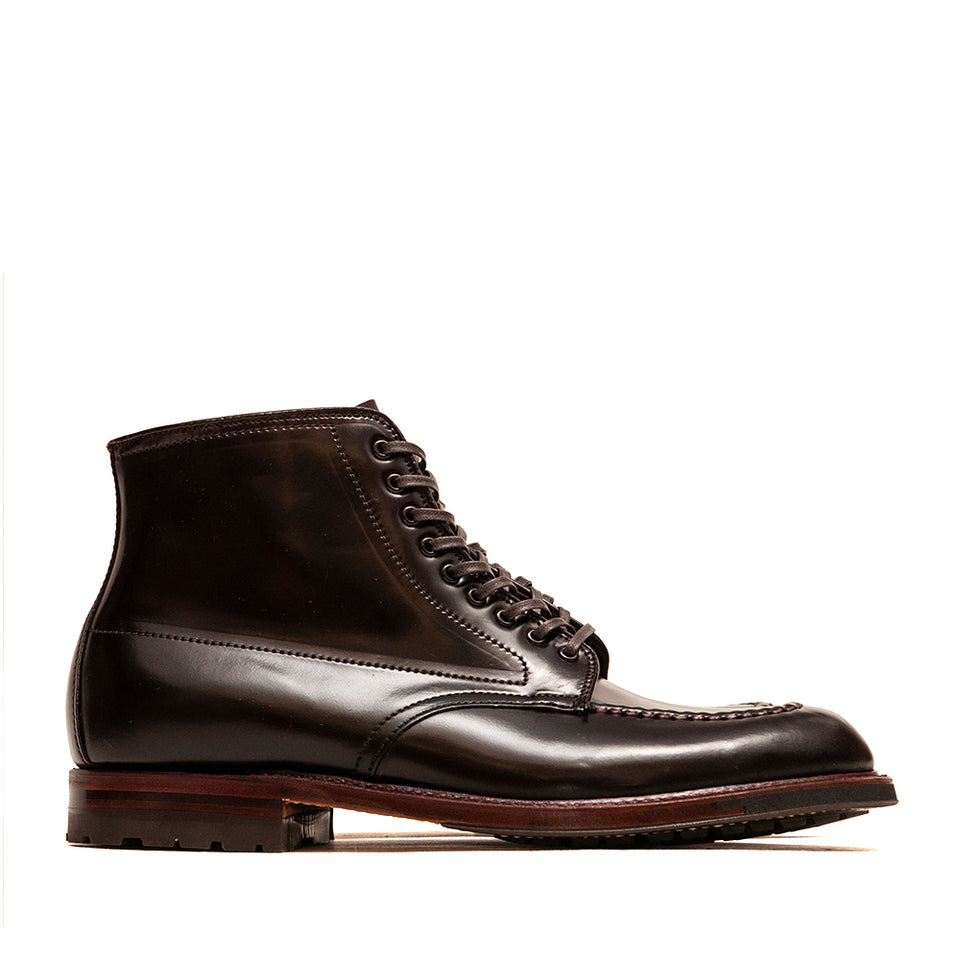 Alden Colour 8 Cordovan Indy Boot with Commando Sole at shoplostfound, side