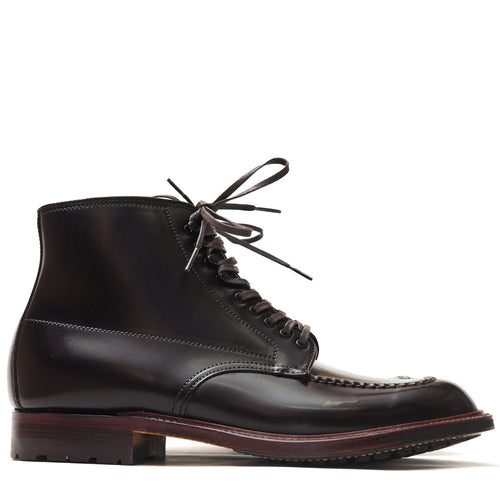 Alden Colour 8 Cordovan Indy Boot with Commando Sole 5901 at shoplostfound in Toronto, profile