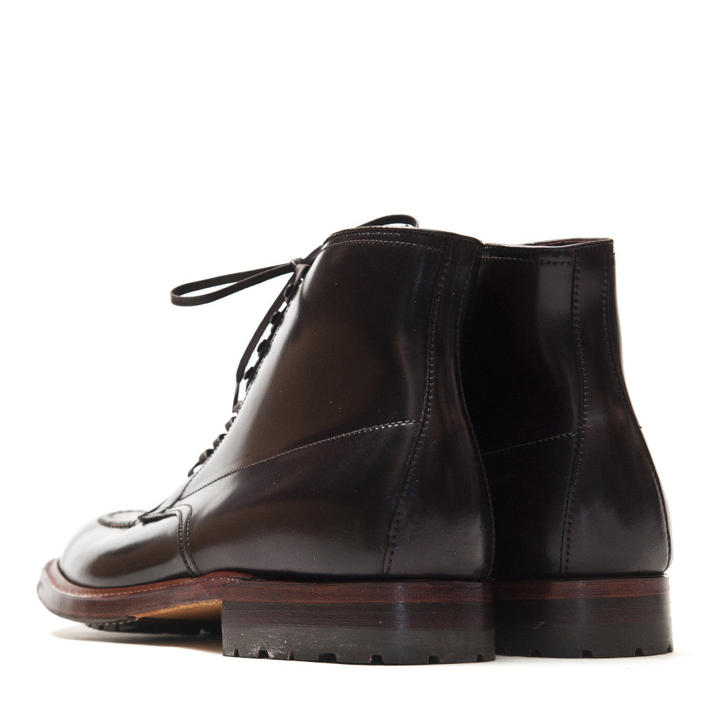 Alden Colour 8 Cordovan Indy Boot with Commando Sole 5901 at shoplostfound in Toronto, back