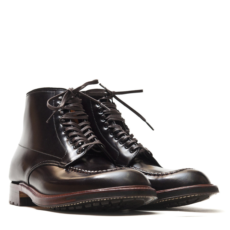Alden Colour 8 Cordovan Indy Boot with Commando Sole 5901 at shoplostfound in Toronto, product shot