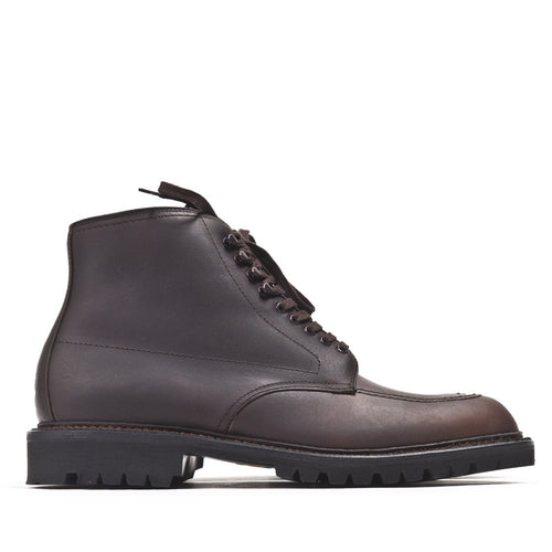 Alden 404 Dark Brown Kudu Indy Boot at shoplostfound in Toronto, profile