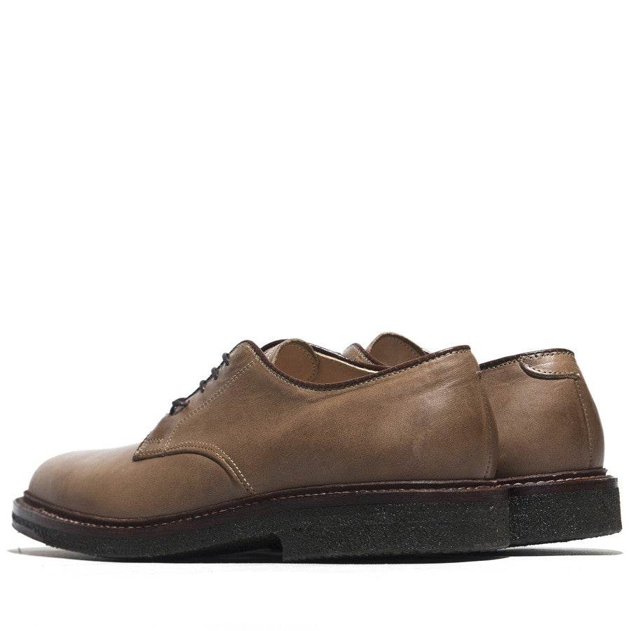 Alden Dover Natural Chromexcel Plantation Crepe Sole at shoplostfound in Toronto, back