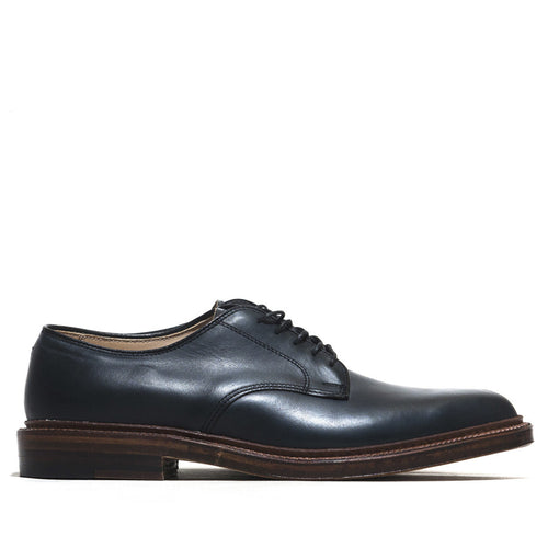 Alden Dover Navy Chromexcel at shoplostfound in Toronto, profile