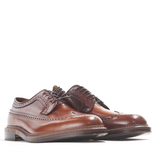 Alden Longwing Blucher 979 in Burnished Tan Calf at shoplostfound in Toronto, product shot