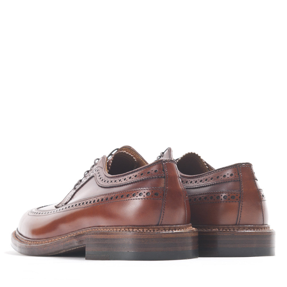 Alden Longwing Blucher 979 in Burnished Tan Calf at shoplostfound in Toronto, back