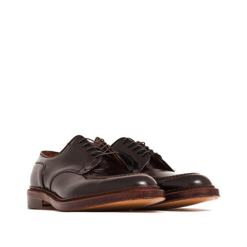Alden Mocc Toe Blucher Colour 8 Shell Cordovan shoplostfound 1
