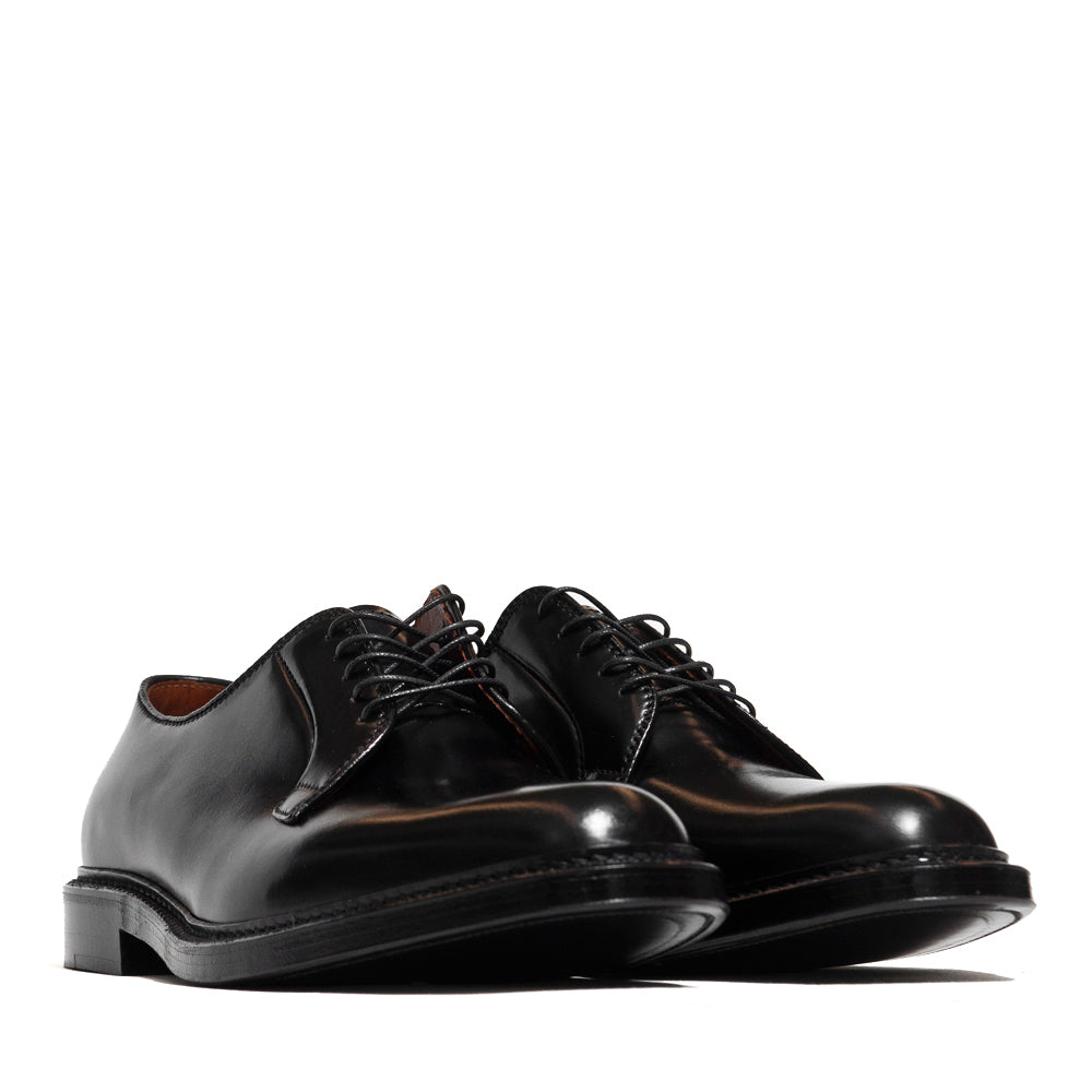 Alden Plain Toe Blucher Black Shell Cordovan 9901 at shoplostfound in Toronto, 45