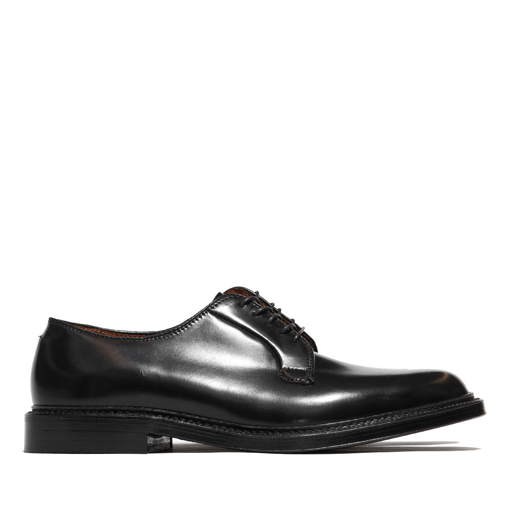 Alden Plain Toe Blucher Black Shell Cordovan 9901