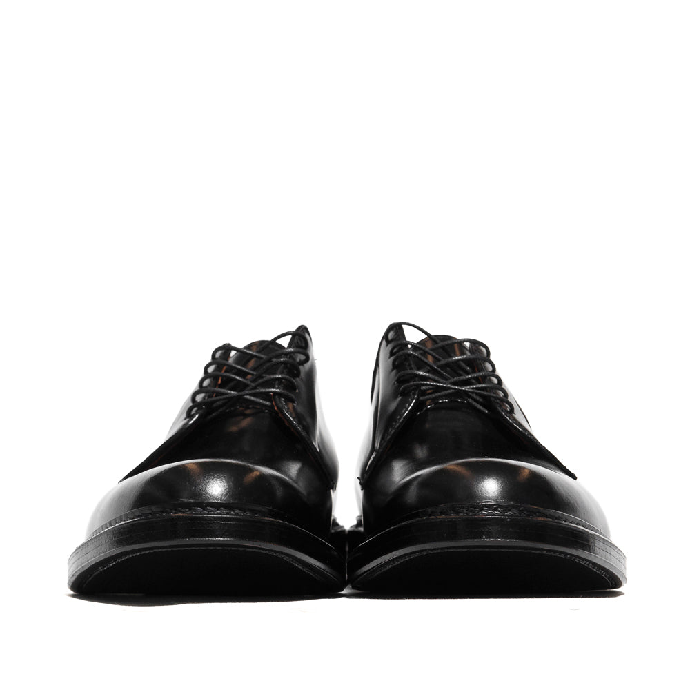 Alden Plain Toe Blucher Black Shell Cordovan 9901 at shoplostfound in Toronto, front