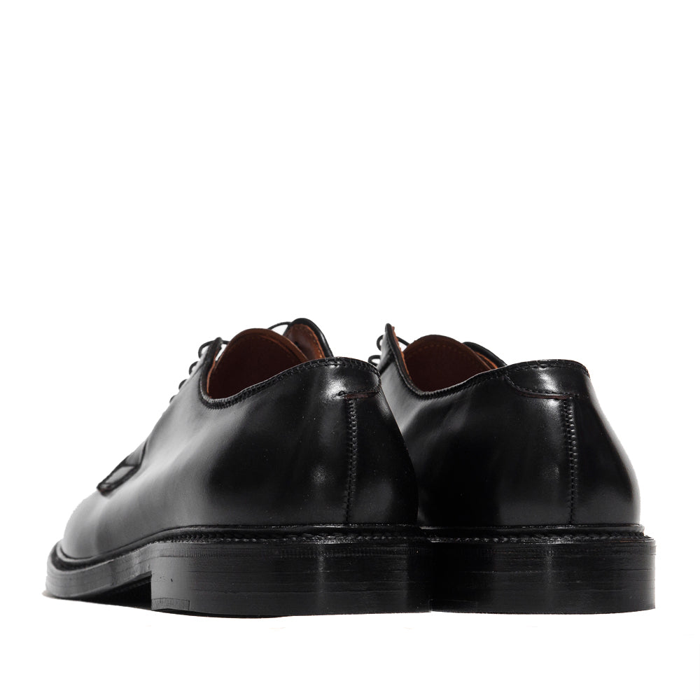 Alden Plain Toe Blucher Black Shell Cordovan 9901 at shoplostfound in Toronto, back