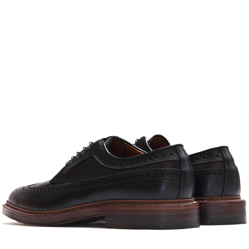 Alden Longwing in Black Trapper at shoplostfound in Toronto, back