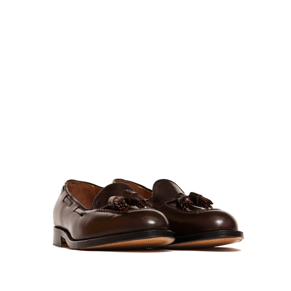 Alden Tassel Loafer Cigar Shell Cordovan