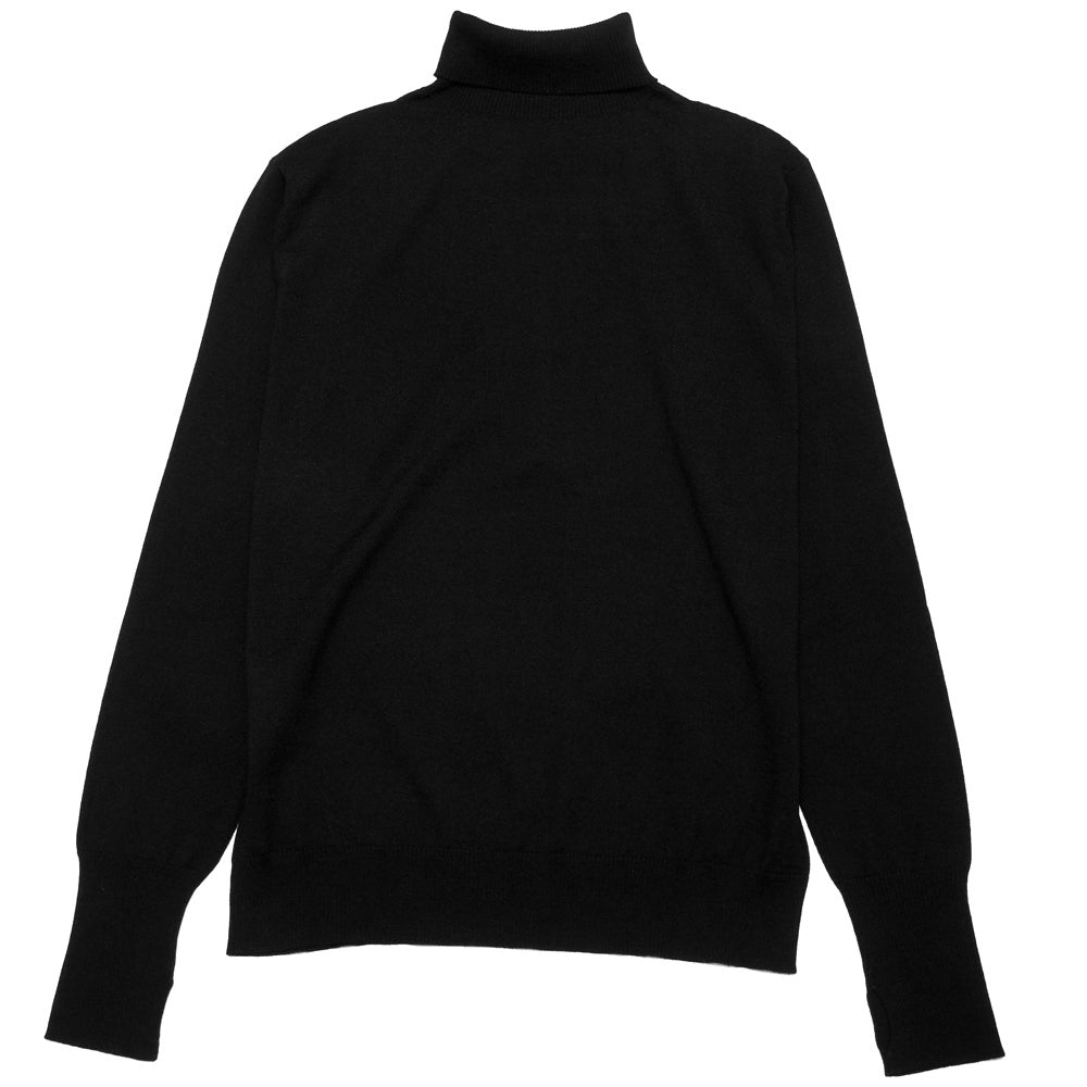 Andersen-Andersen Light Turtleneck Black at shoplostfound, back