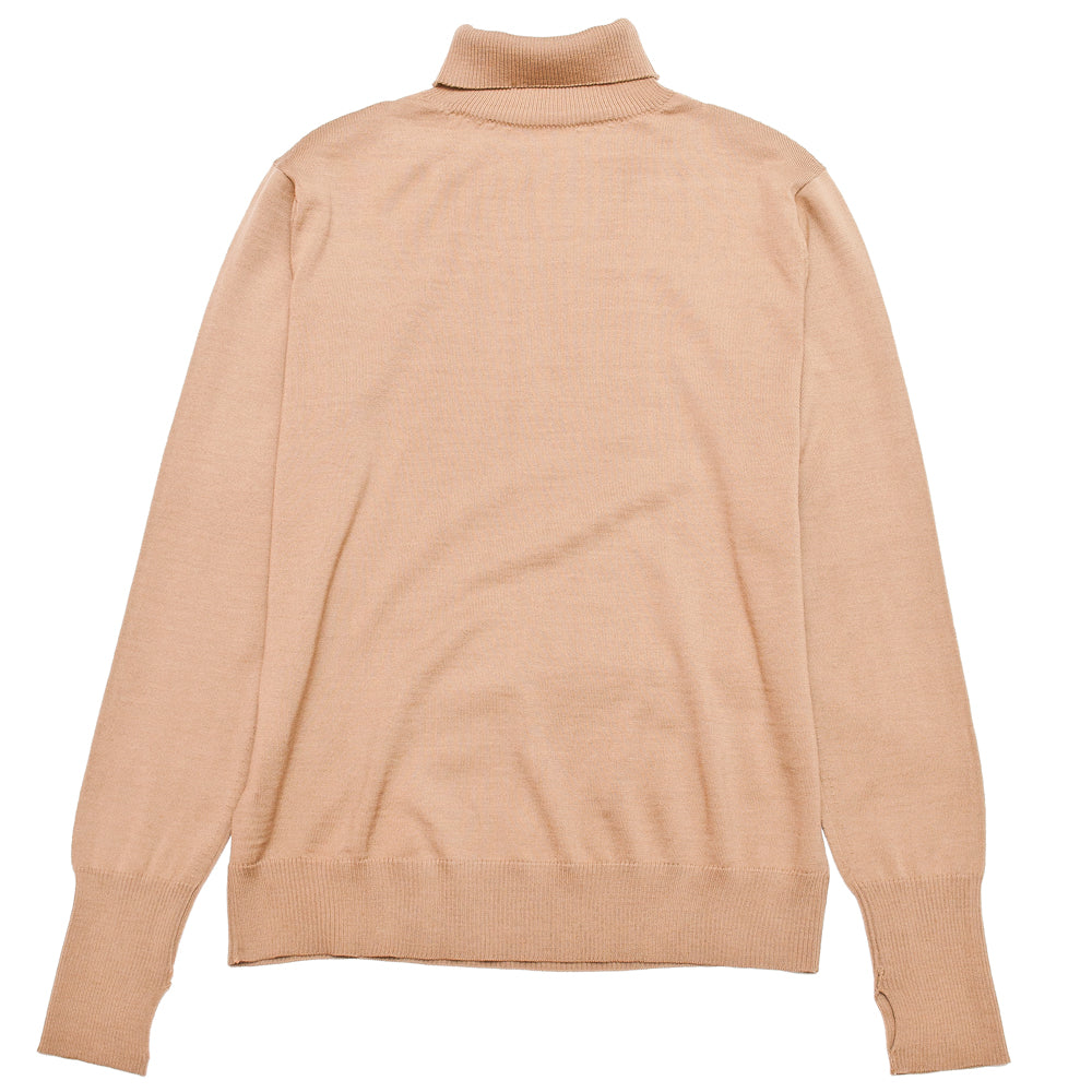 Andersen-Andersen Light Turtleneck Camel at shoplostfound, back
