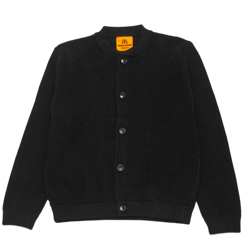 Andersen-Andersen Skipper Jacket Black at shoplostfound, front