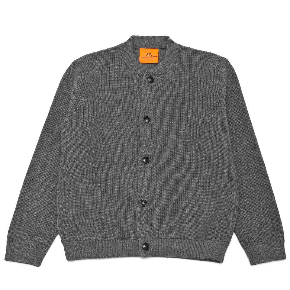 Andersen-Andersen Skipper Jacket Grey at shoplostfound, front