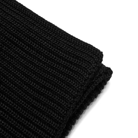 Andersen-Andersen Wide Scarf Black at shoplostfound, front