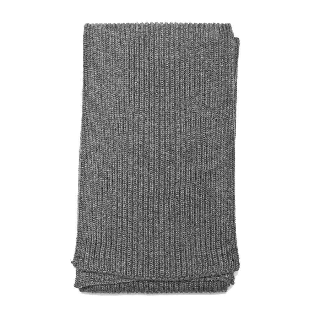 Andersen-Andersen Wide Scarf Grey at shoplostfound, front
