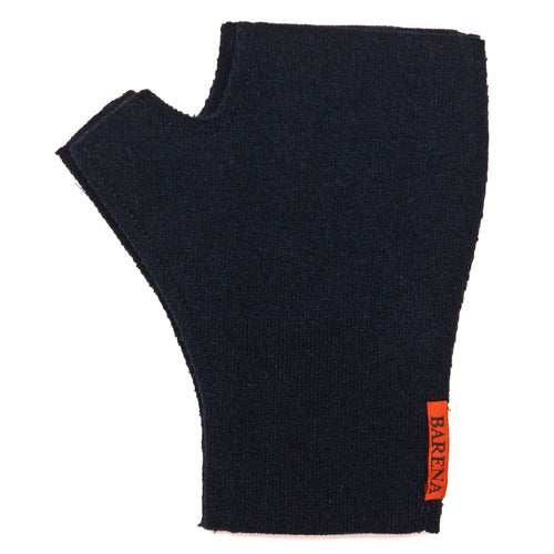 Barena Venezia Fingerless Gloves Navy