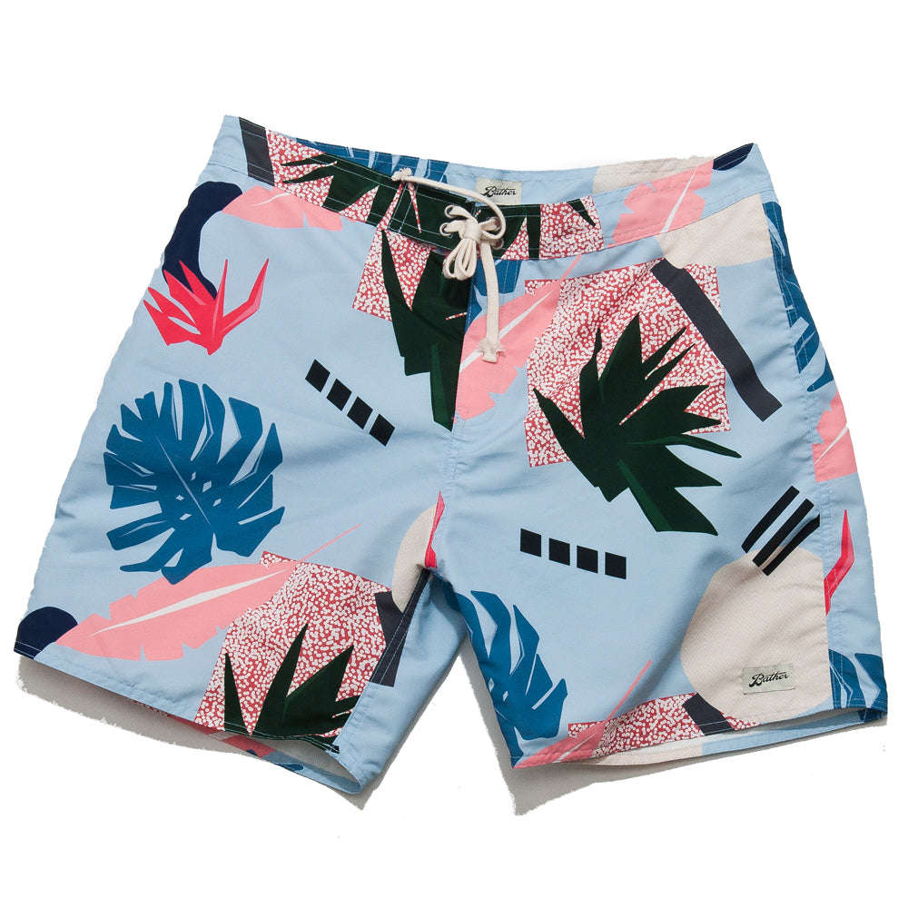32cfffcf01 ... Bather Abstract Palms Surf Trunk Blue/Multi.  product.featured_image.alt. image.alt ...