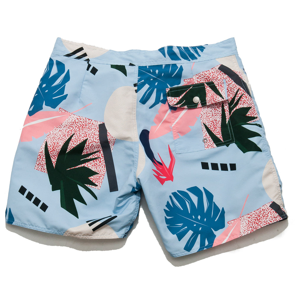 40851b1bee ... Bather Abstract Palms Surf Trunk Blue/Multi.  product.featured_image.alt. image.alt image.alt ...
