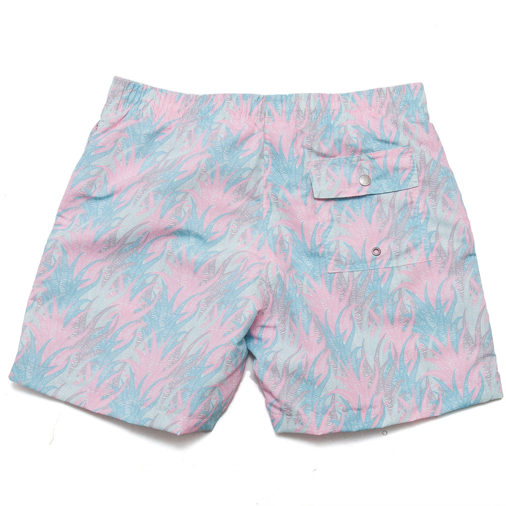 Bather Multi Coral Swim Trunk Multi Coloured at shoplostfound, back