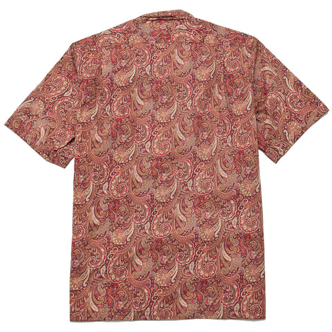 Battenwear Five Pocket Island Shirt Red Paisley shoplostfound front