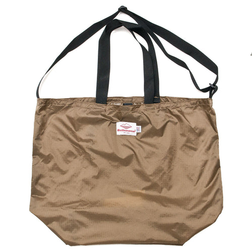 Battenwear Packable Tote Tan/Black shoplostfound front