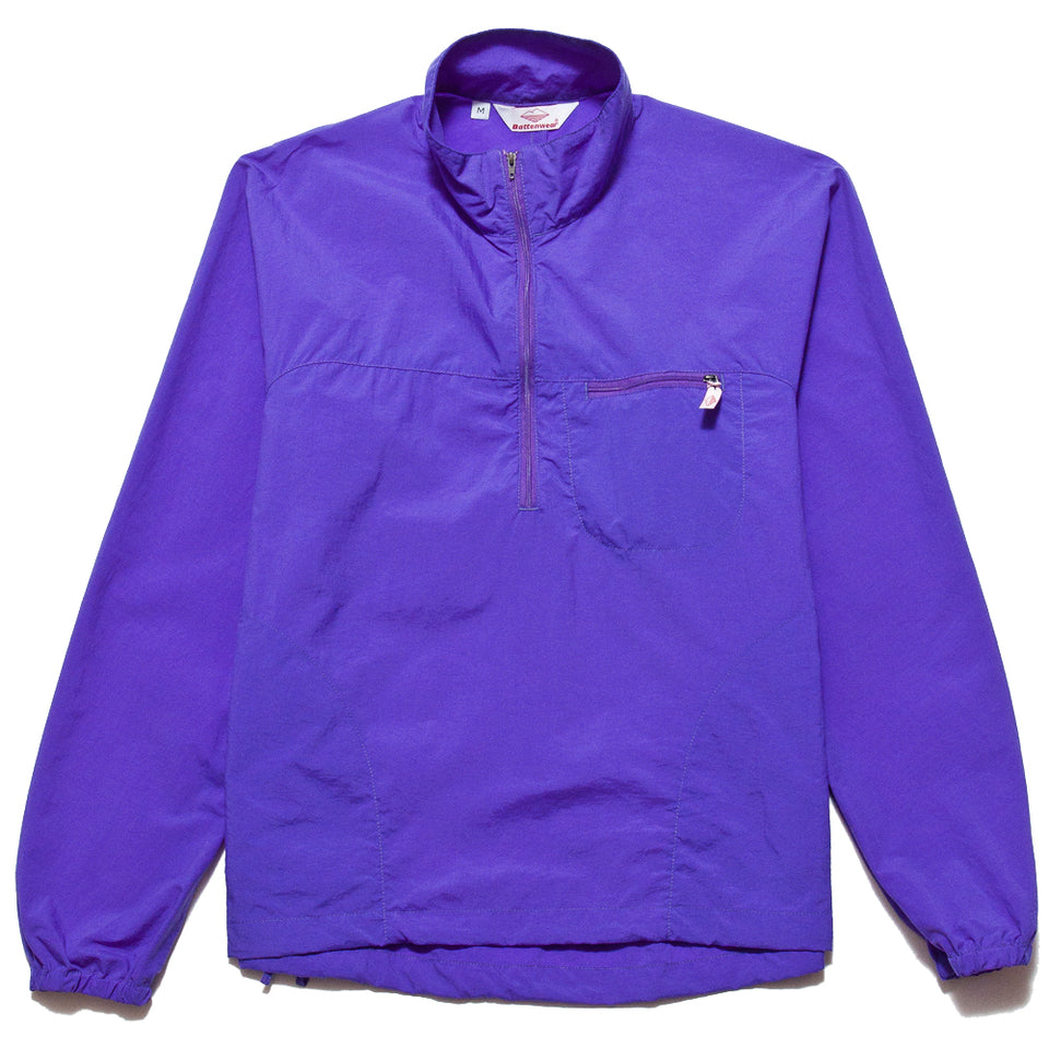 Battenwear Packable Windstopper Purple at shoplostfound, front